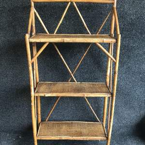 Victorian Bamboo Bookcase