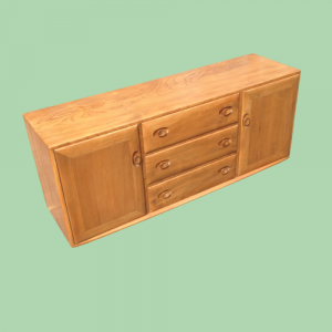 Ercol Sideboard with Two Doors and Three Drawers