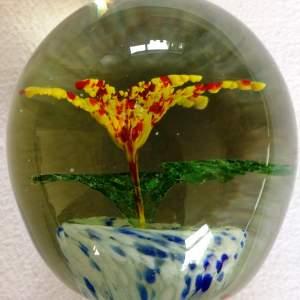 19th Century Stourbridge Glass Paperweight