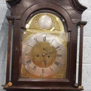 8-Day Longcase Clock by James Kirkland of Glasgow