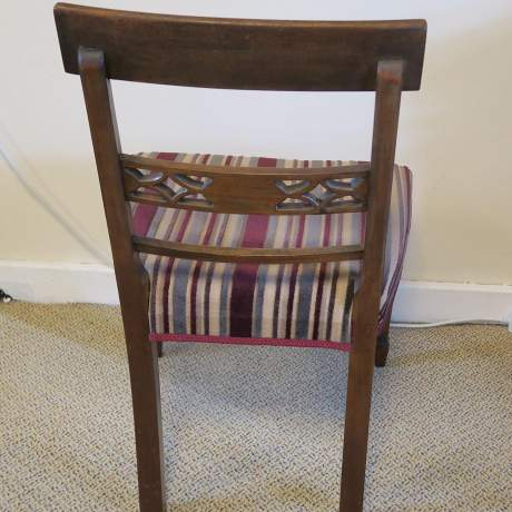 Regency Period  Mahogany Side Chair image-3