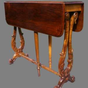 19th Century Walnut Sutherland Table