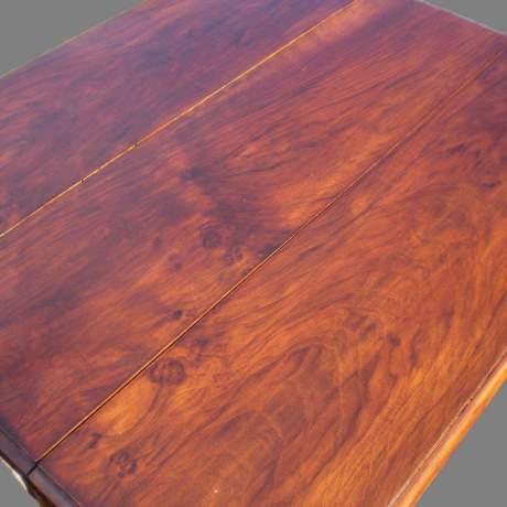 19th Century Walnut Sutherland Table image-5