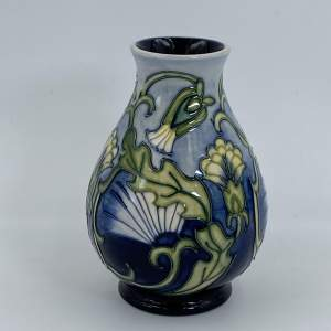 Moorcroft Rough Hawks Beard Vase