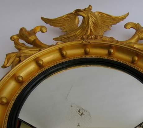 Stunning Regency Convex Mirror image-6