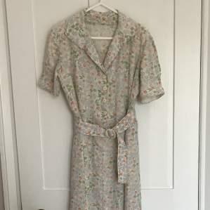 1940s Vintage Summer Dress