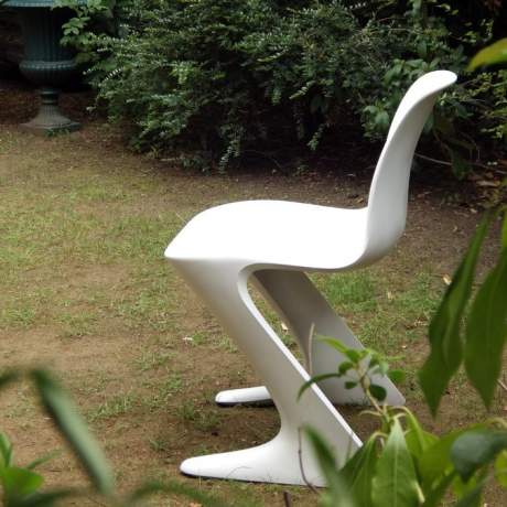 Ernst Moeckl Design 1960s Retro Fibreglass Kangaroo Chair image-1