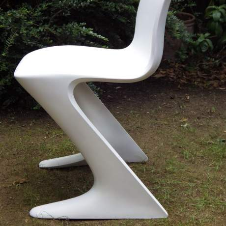 Ernst Moeckl Design 1960s Retro Fibreglass Kangaroo Chair image-4