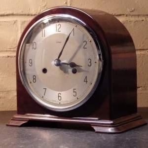 1930s Bakelite Enfield Mantel Clock