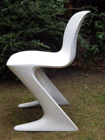 Ernst Moeckl Design 1960s Retro Fibreglass Kangaroo Chair image-6