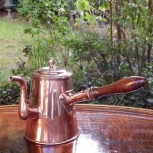 Georgian 19th Century Antique Copper Chocolate Pot