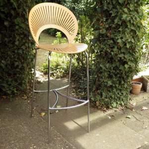 Nanna Ditzel Design Trinidad Model 3300 Chair Danish Bar Stool