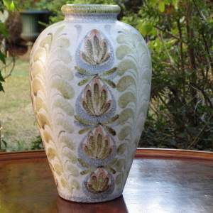 Glyn Colledge Design Large Impressive Denby Pottery Vase