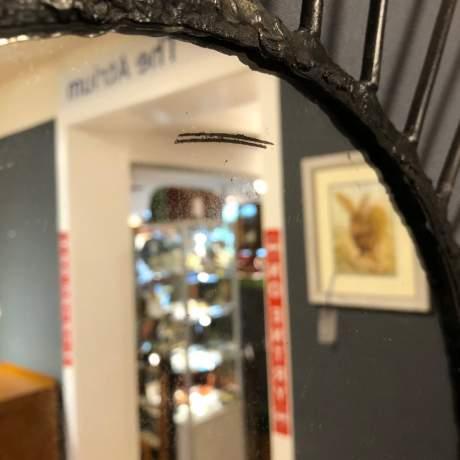 Pair of Vintage Starburst Wall Mirrors image-12