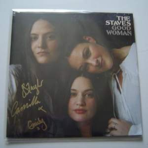 The Staves Good Women Fully Autographed Clear Vinyl Sealed LP