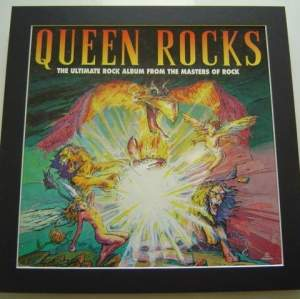 3 x Queen  Original Uk Posters In Mounts Ready To Frame