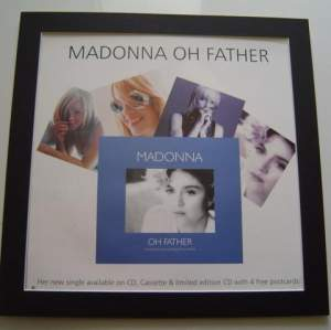 4 x Madonna Original Rare Posters In Mounts Ready To Frame