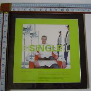 3 x Pet Shop Boys Original Uk  Posters In Mounts Ready To Frame
