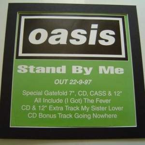4 x Oasis Original Uk Rare Posters In Mounts Ready To Frame
