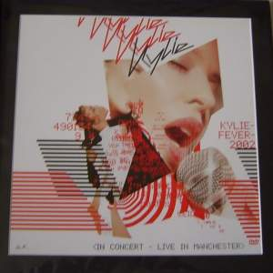 4 x Kylie Minogue  Original Rare Posters In Mounts Ready To Frame