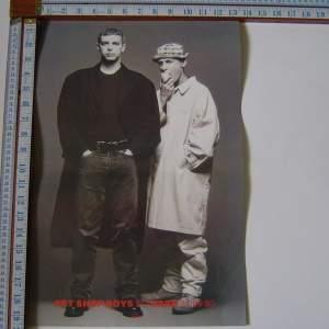 Pet Shop Boys So Hard 1990  Original Poster