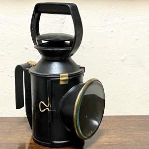 British Railways Black Handheld Lamp