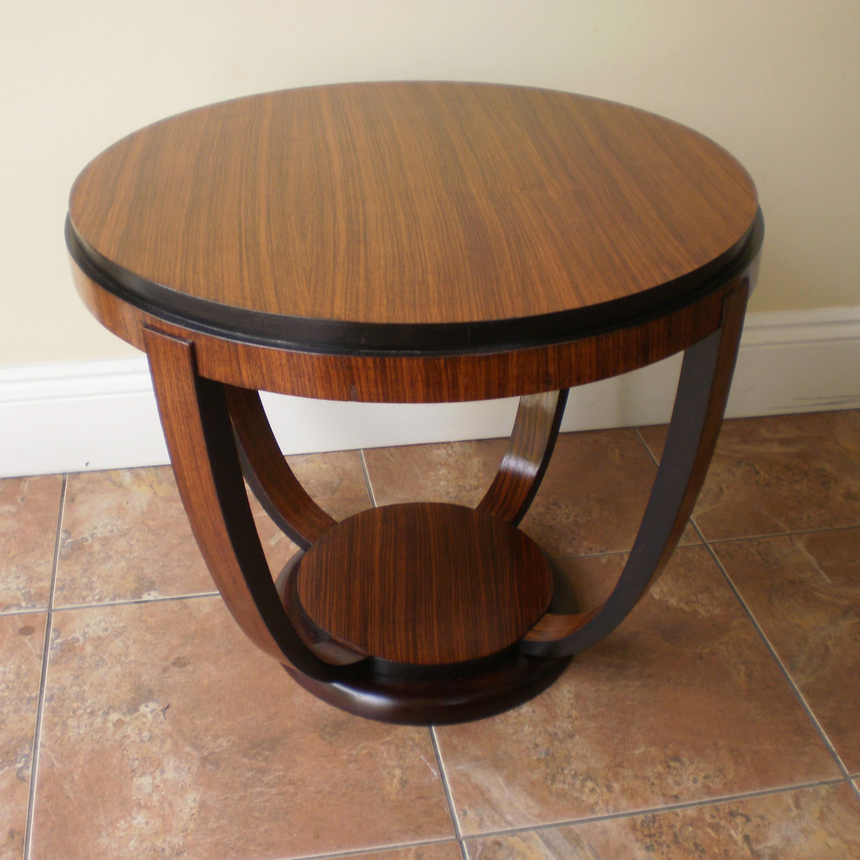 An Art Deco Two Tier Coffee Table Antique Tables