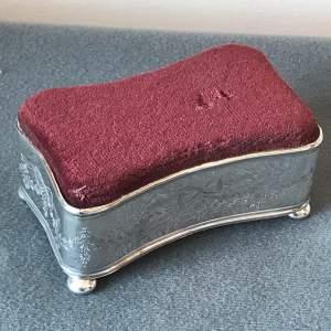 Edwardian Silver Framed Pin Cushion