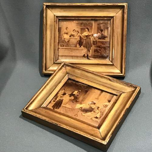 Victorian Pair of Small Crystoleums image-1