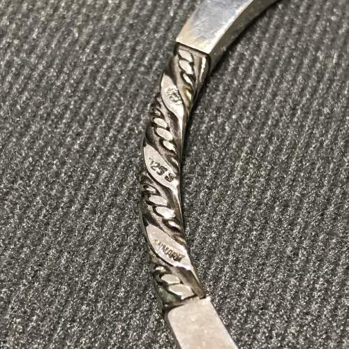 Georg Jensen Danish Silver Bangle image-3