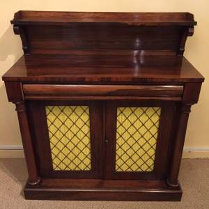 19th Century Rosewood Chiffonier