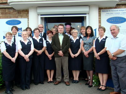 Staff at Hemswell Antique Centres