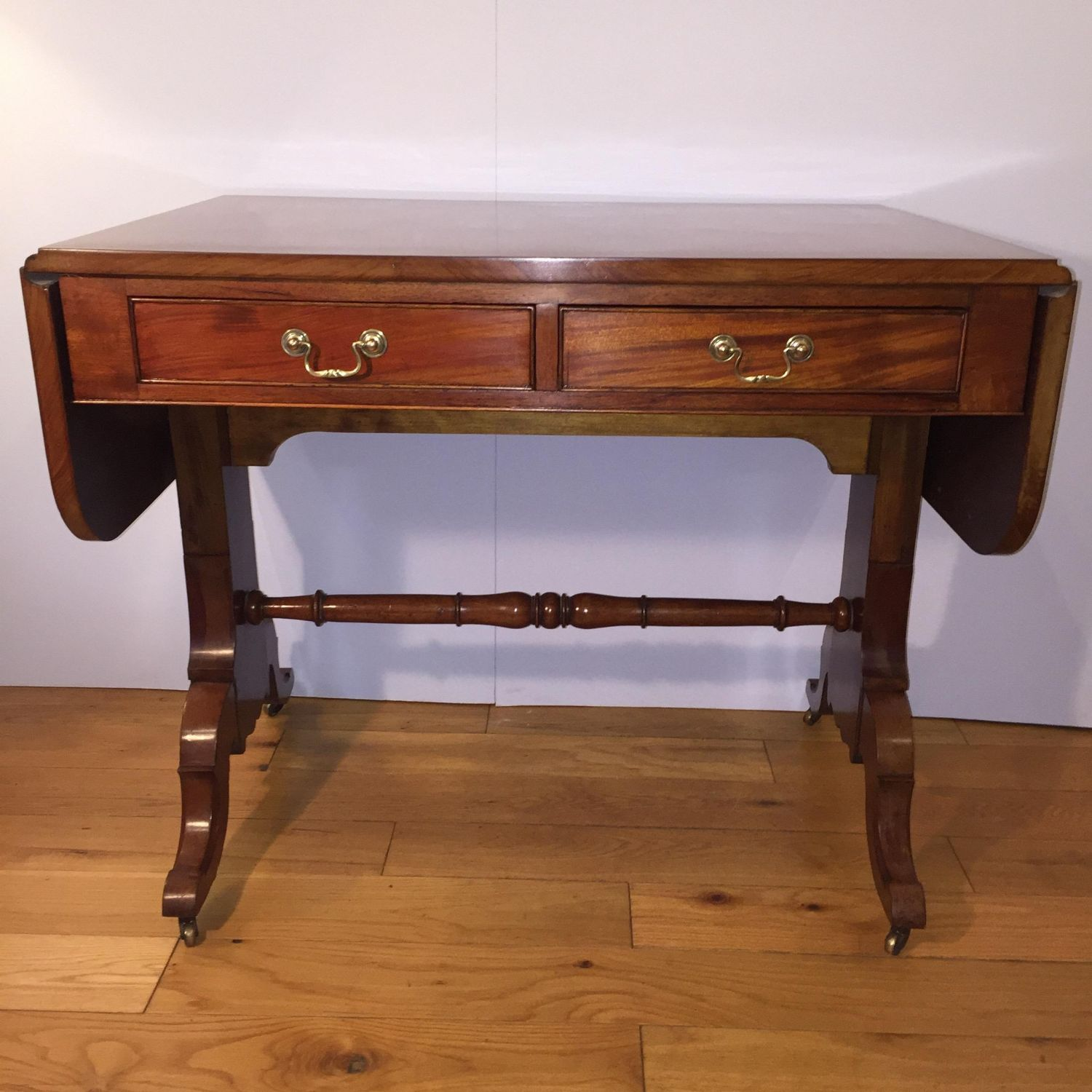 Mahogny Sofa Table With Two Drawers Circa 1920 1930 Antique  ~ Sofa Tables With Drawers