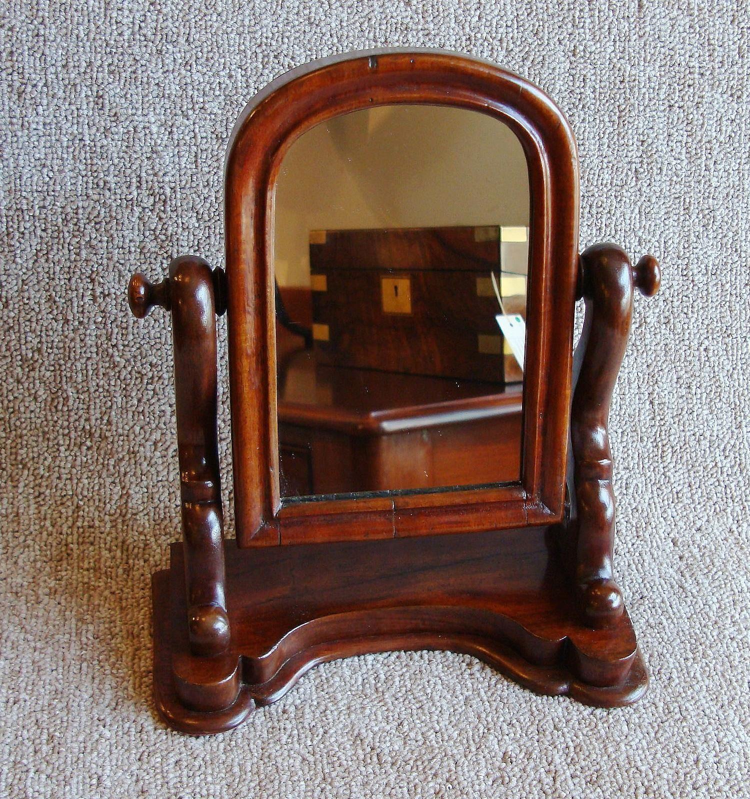 Miniature Victorian Swing Mirror