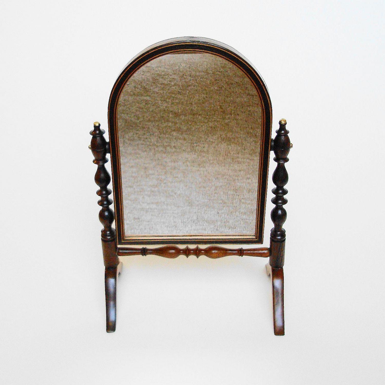 Victorian Miniature Swing Mirror