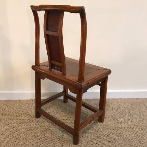 A Pair Of Qing Dynasty Chinese Hardwood Chairs image-3
