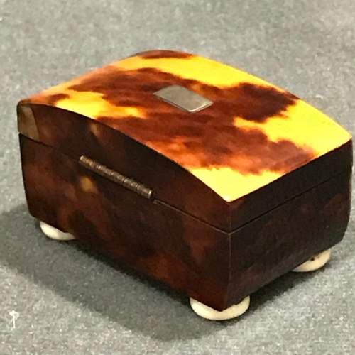 Regency Period Tortoiseshell and Ivory Patch Box image-2