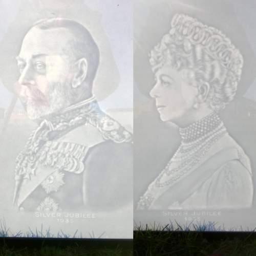 Pair of Silver Jubilee Watermark Prints image-1