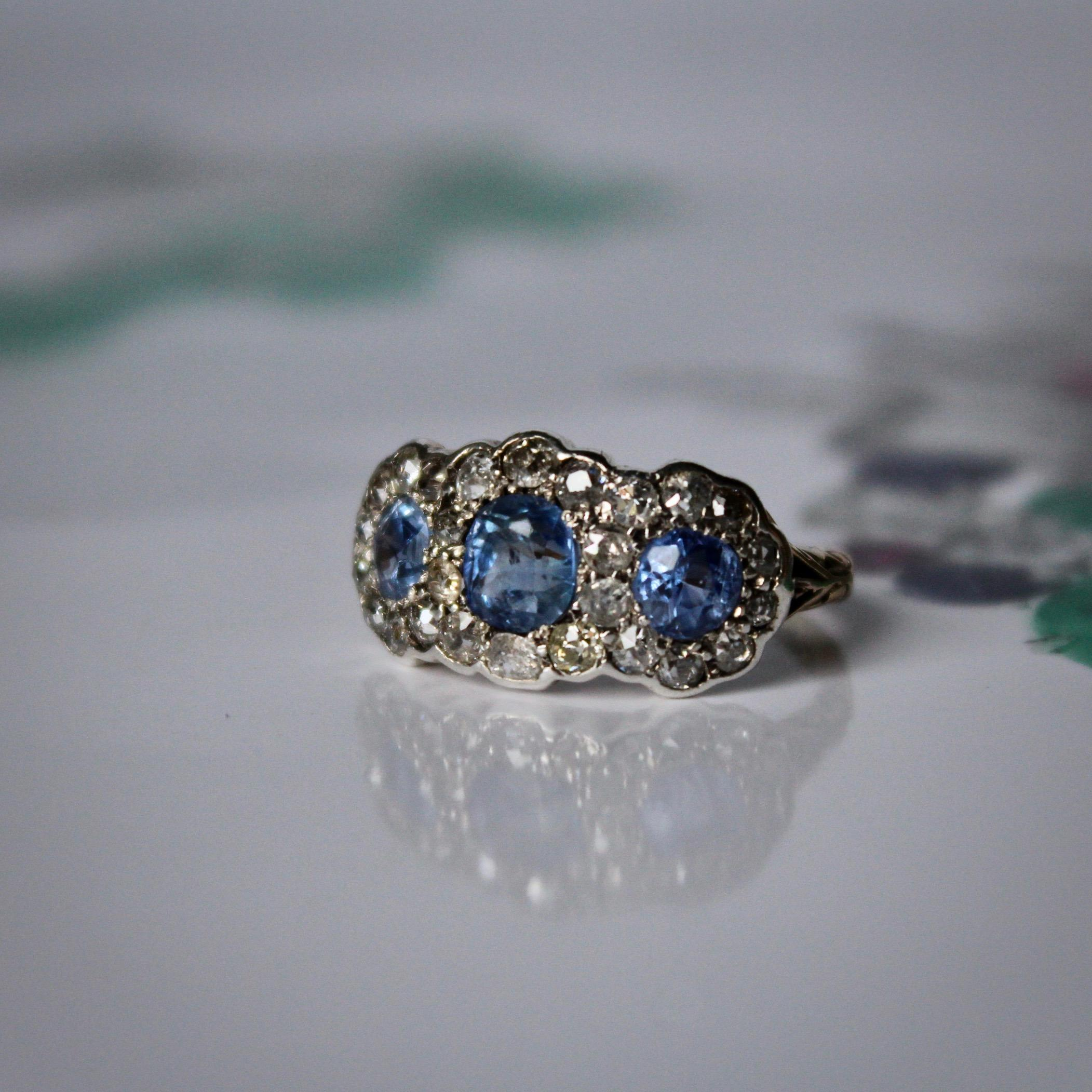 for rings gold blue j rare jewelry at master pale sale id sapphire cluster kashmir ring img diamond