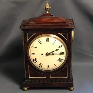 Regency Twin Fusee Bracket Clock