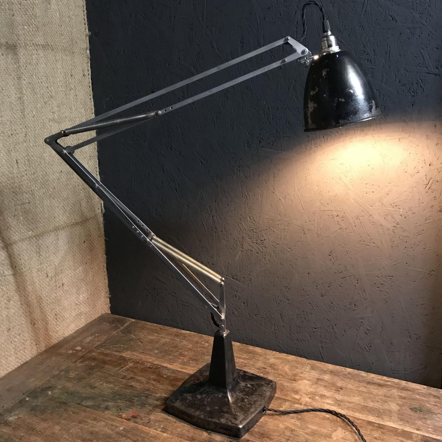 Herbert terry 1208 prototype anglepoise lamp antique lighting herbert terry 1208 prototype anglepoise lamp mozeypictures Choice Image