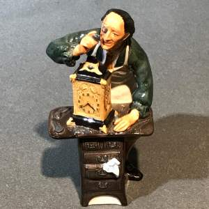 Royal Doulton Clockmaker Figure