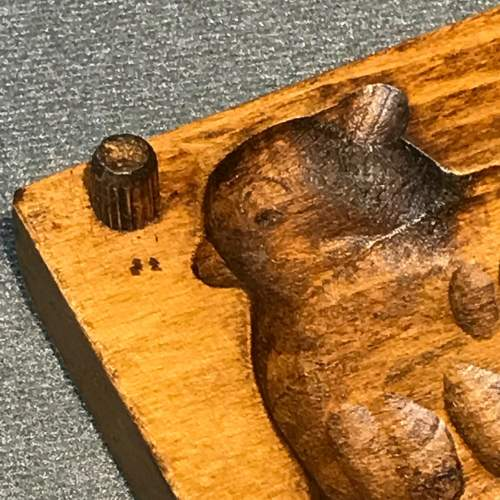 Treen Chocolate or Butter Mould in the Shape of a Sheep image-5