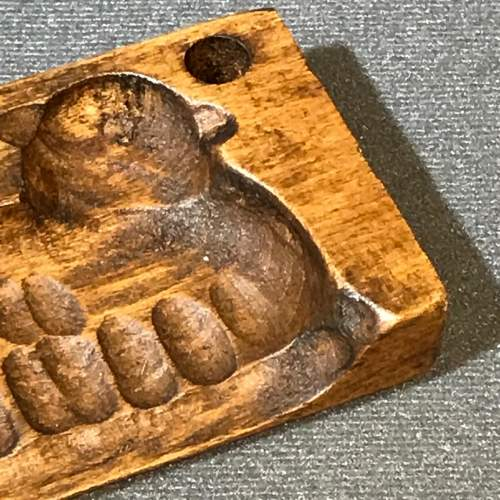 Treen Chocolate or Butter Mould in the Shape of a Sheep image-6