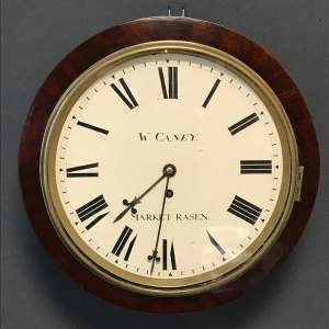 Lincolnshire 19th Century Fusee Wall Clock