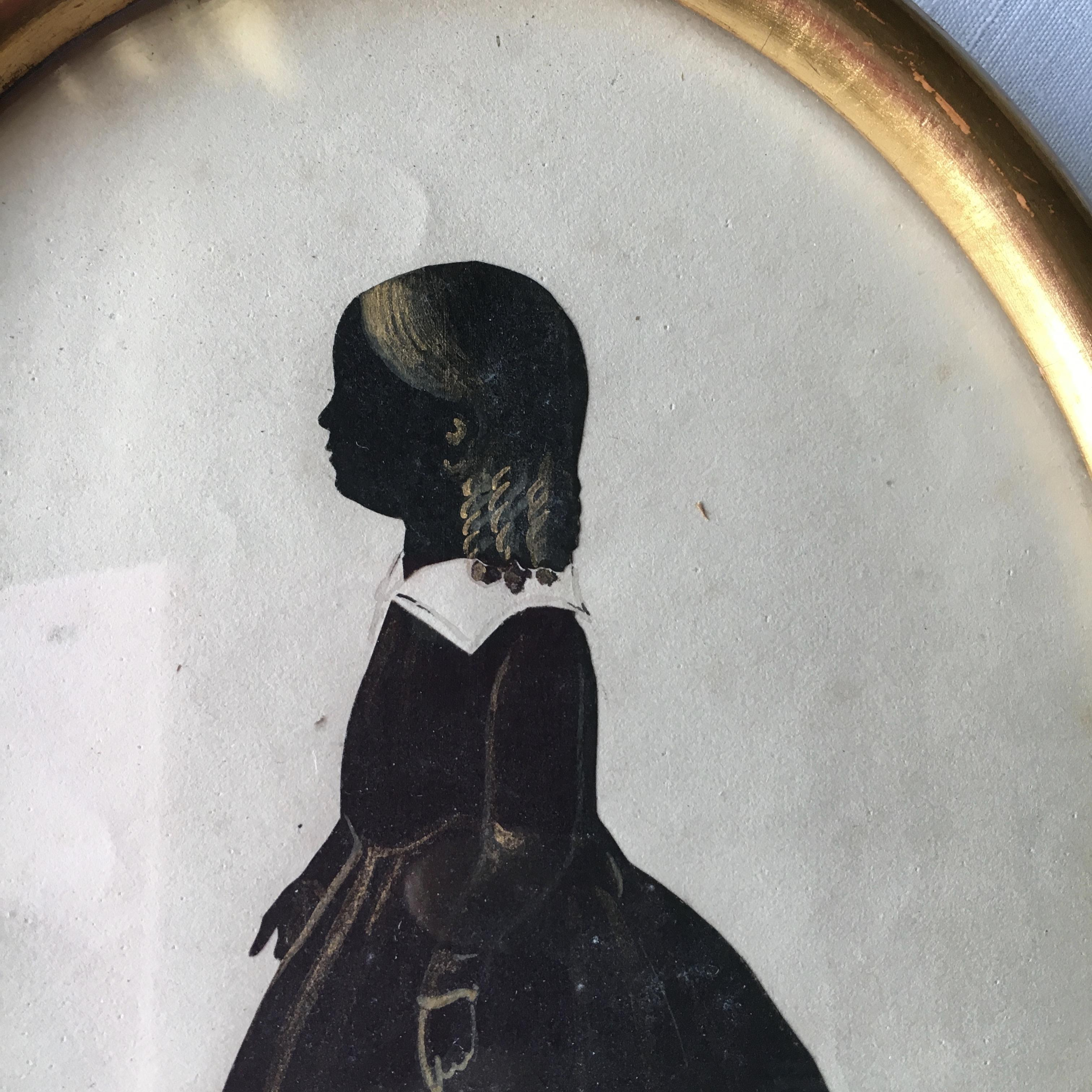 silhouette portrait of maria prichard cut on her 8th birthday in 1825 gifts for every occasion. Black Bedroom Furniture Sets. Home Design Ideas