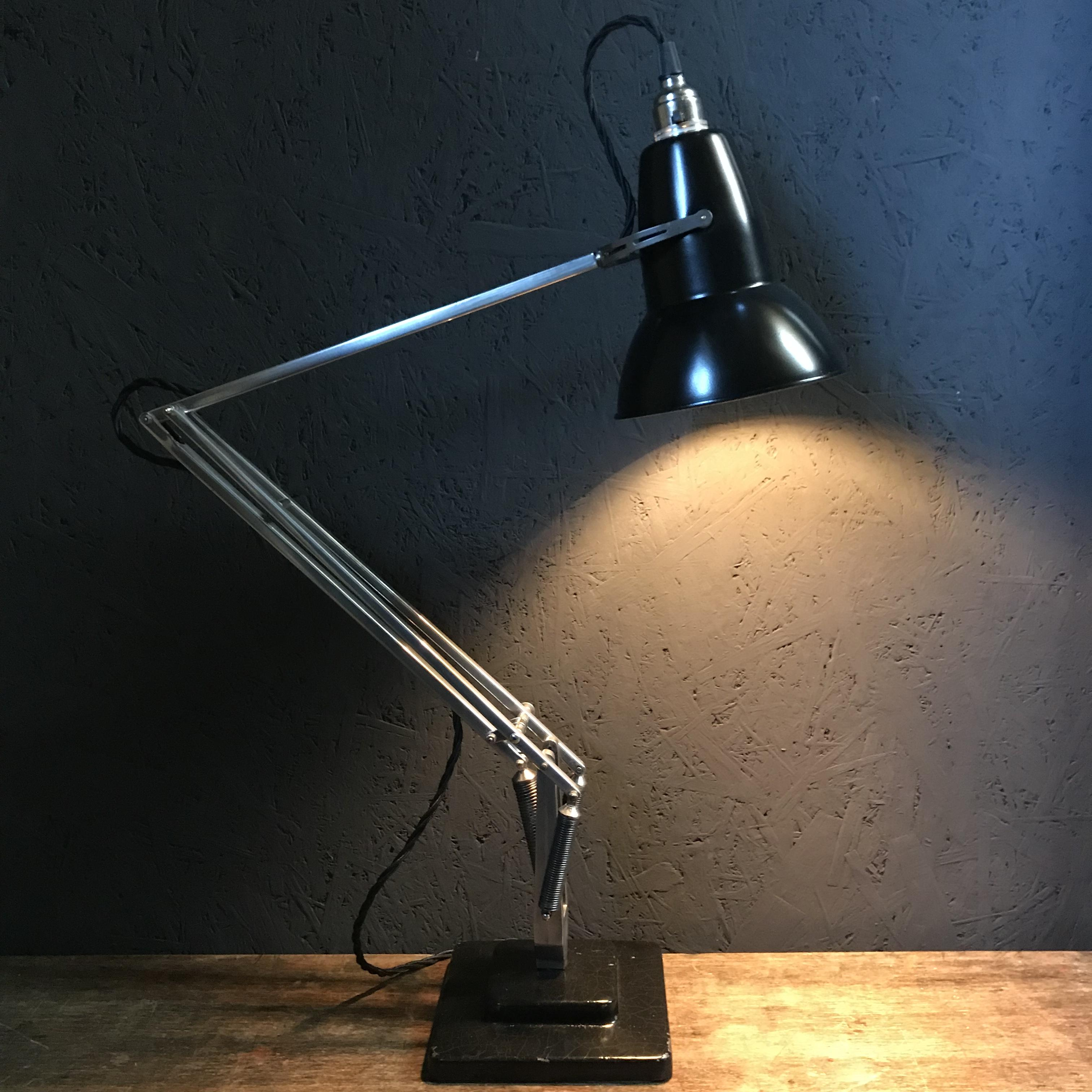 angle vintage poise anglepoise slim lamp