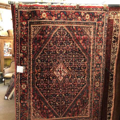 Old Hand Knotted Persian Rug  Senneh image-2