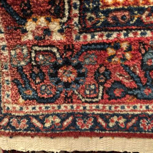 Old Hand Knotted Persian Rug  Senneh image-4