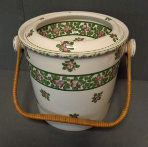 Antique Ceramic Bucket by Copeland Spode
